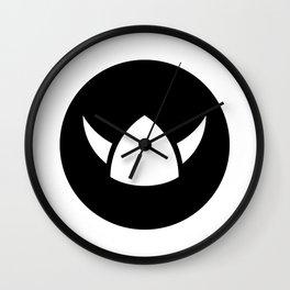 Viking Hero Ideology Wall Clock