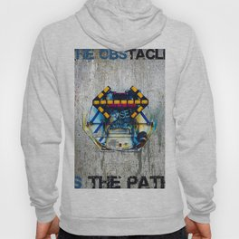 Rise The Obstacle Is The Road Hoody