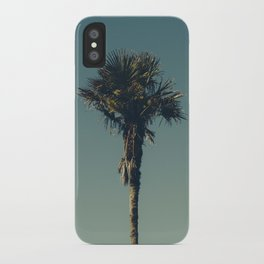 Vintage Film style Palm tree iPhone Case