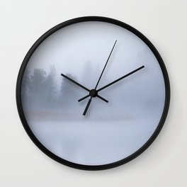 Foggy Morning #decor #buyart #society6 Wall Clock