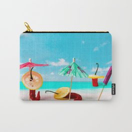 The Red, the Hot, the Chili on the beach Carry-All Pouch
