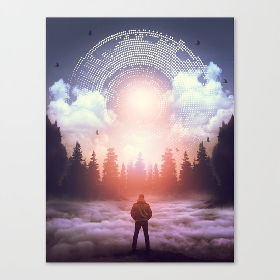 Waiting for the Sun to Rise Canvas Print