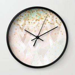 Mountains are high Wall Clock