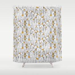 gaggle Shower Curtain