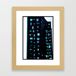 Building at Dusk - New York City Framed Art Print