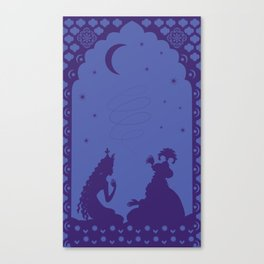Scheherazade and a thousand and one nights Canvas Print