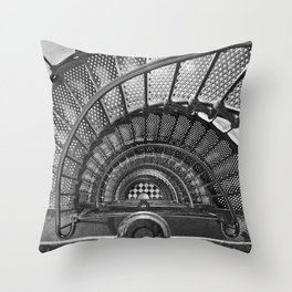 The Keepers Journey / St. Augustine, Florida Lighthouse Throw Pillow