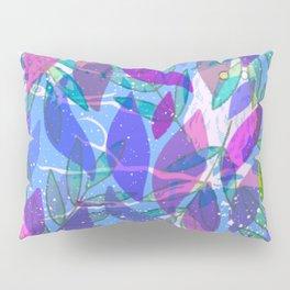 modern leaves pattern Pillow Sham