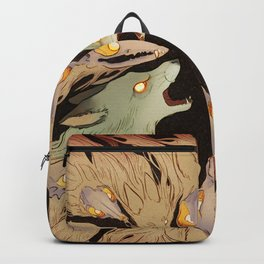 Madness Creeps Up Behind Us Backpack