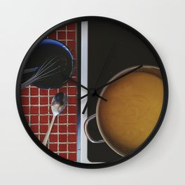 Italian polenta Wall Clock