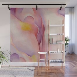 Poster-Georgia O'Keeffe-From Pink shell. Wall Mural
