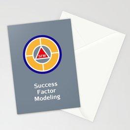Success Factor Modeling Logo Stationery Cards