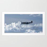 Cadillac of the Skies Art Print