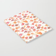 Watercolor Goldfish Notebook