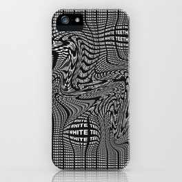 White Teeth Teens iPhone Case