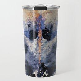Victorian Inkblot Travel Mug