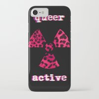 queer iPhone & iPod Cases featuring Queer Active by Stranger In Parts