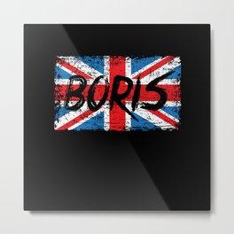 Boris Johnson For Prime Minister 2019 Metal Print