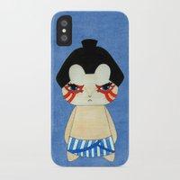 honda iPhone & iPod Cases featuring A Boy - E. Honda by Christophe Chiozzi