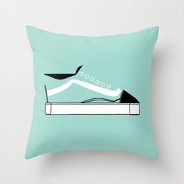 Low Top Throw Pillow