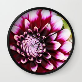 Hannah's Flower #1 Wall Clock