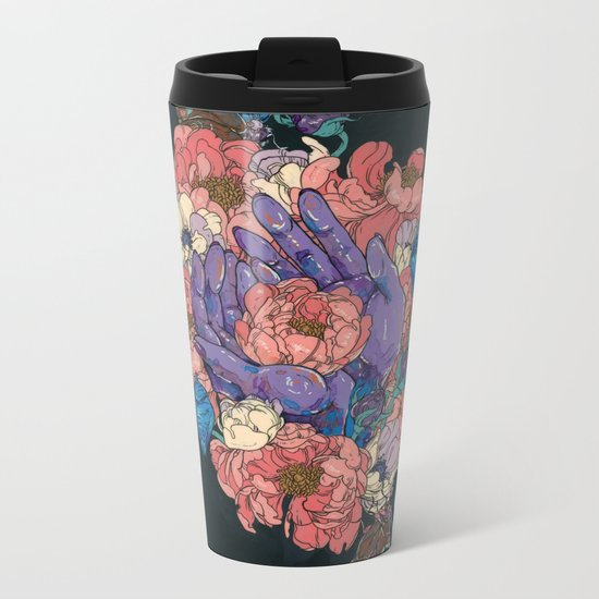 This is My Hand (This is My Heart) Metal Travel Mug