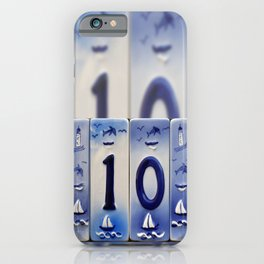 Number 10 iPhone Case