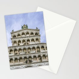 San Michelle Cathedral, Lucca, Italy Stationery Cards