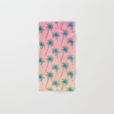 Palm Tree Pattern Hand & Bath Towel