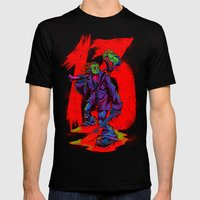 TGIF13 (neon variant) Black SMALL Mens Fitted Tee