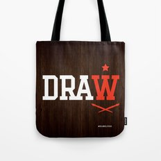 DRAW Tote Bag