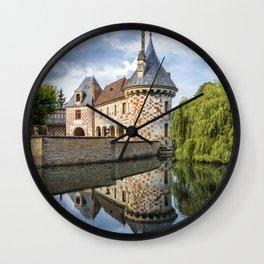 Chateau of Saint-Germain de Livet Wall Clock