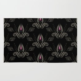 Art Deco 33 . The flower Bud . Rug