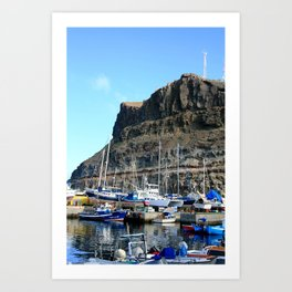 Madeira Boats Art Print