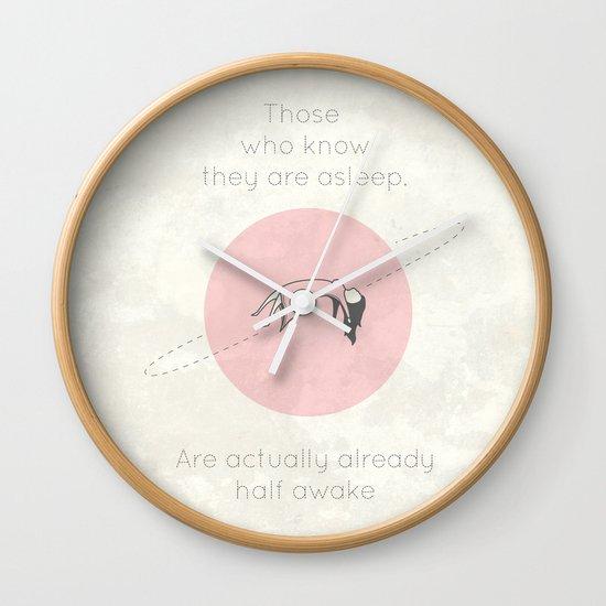 The Insomnia of Heisenberg Wall Clock