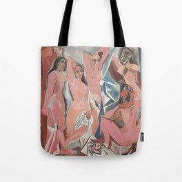 Pablo Picasso - Les Demoiselles d'Avignon Tote Bag