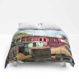 Squat New Age Comforters