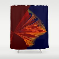 arrow Shower Curtains featuring arrow by donphil
