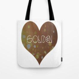 Golden. Tote Bag