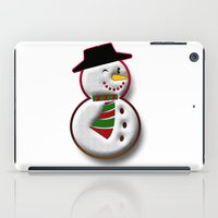 snowman iPad Cases featuring Snowman by Gaspar Avila