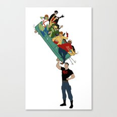 Young Justice // all together now Canvas Print