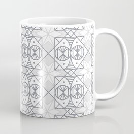 Bohemian Collection (Grey & White) Coffee Mug