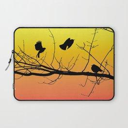 Sunset Birds Infight Laptop Sleeve