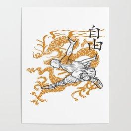 Shaolin Monks Poster
