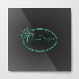 Connor Project Metal Print