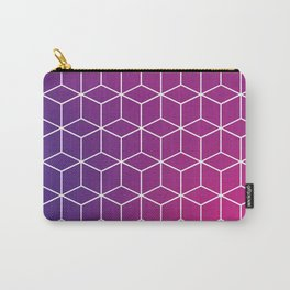 Gradient Cube Design Carry-All Pouch