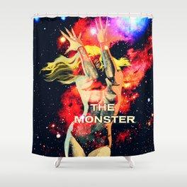 The Monster Girl Shower Curtain