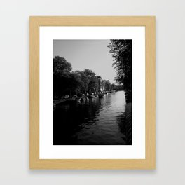 canales Framed Art Print