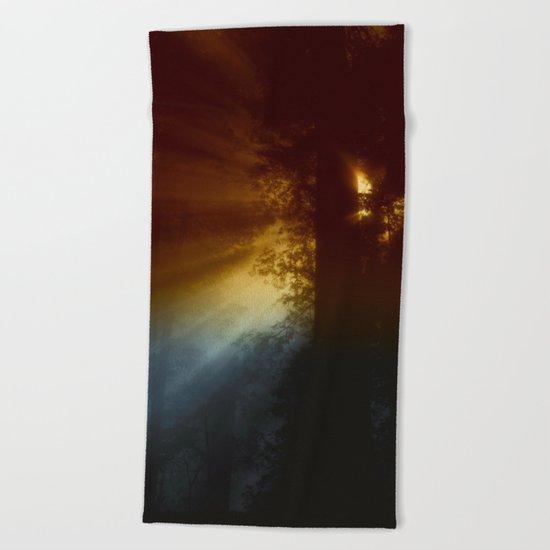 CALIFORNIAN FOG Beach Towel