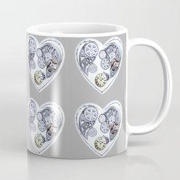 Steampunk Clockwork Hearts Coffee Mug